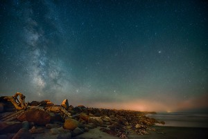 Milky Way Over Jetty