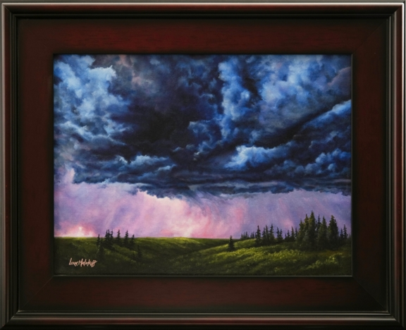 """""""Spring Storm"""" Oil on Canvas"""