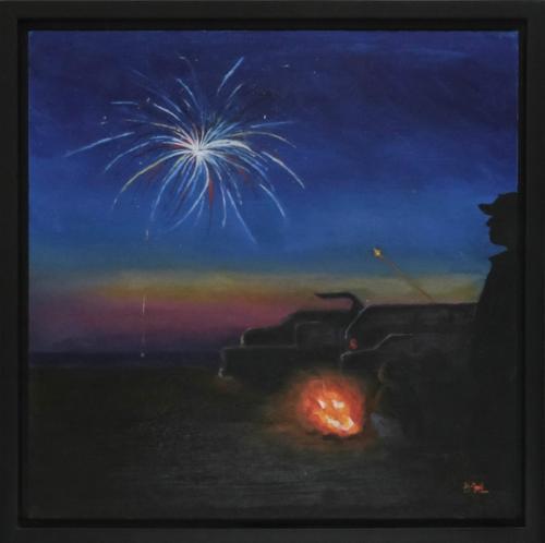 Margaret - Beach Fireworks