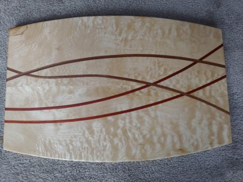 Four Curves Serving Board