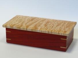 Maple and Paduak Box